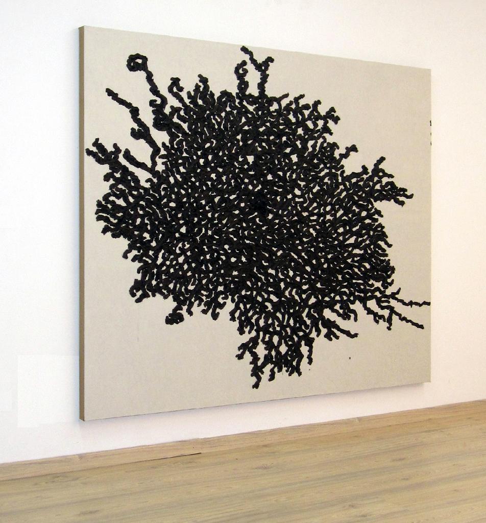 Con titolo - 2011- olio su tela- cm 180x160