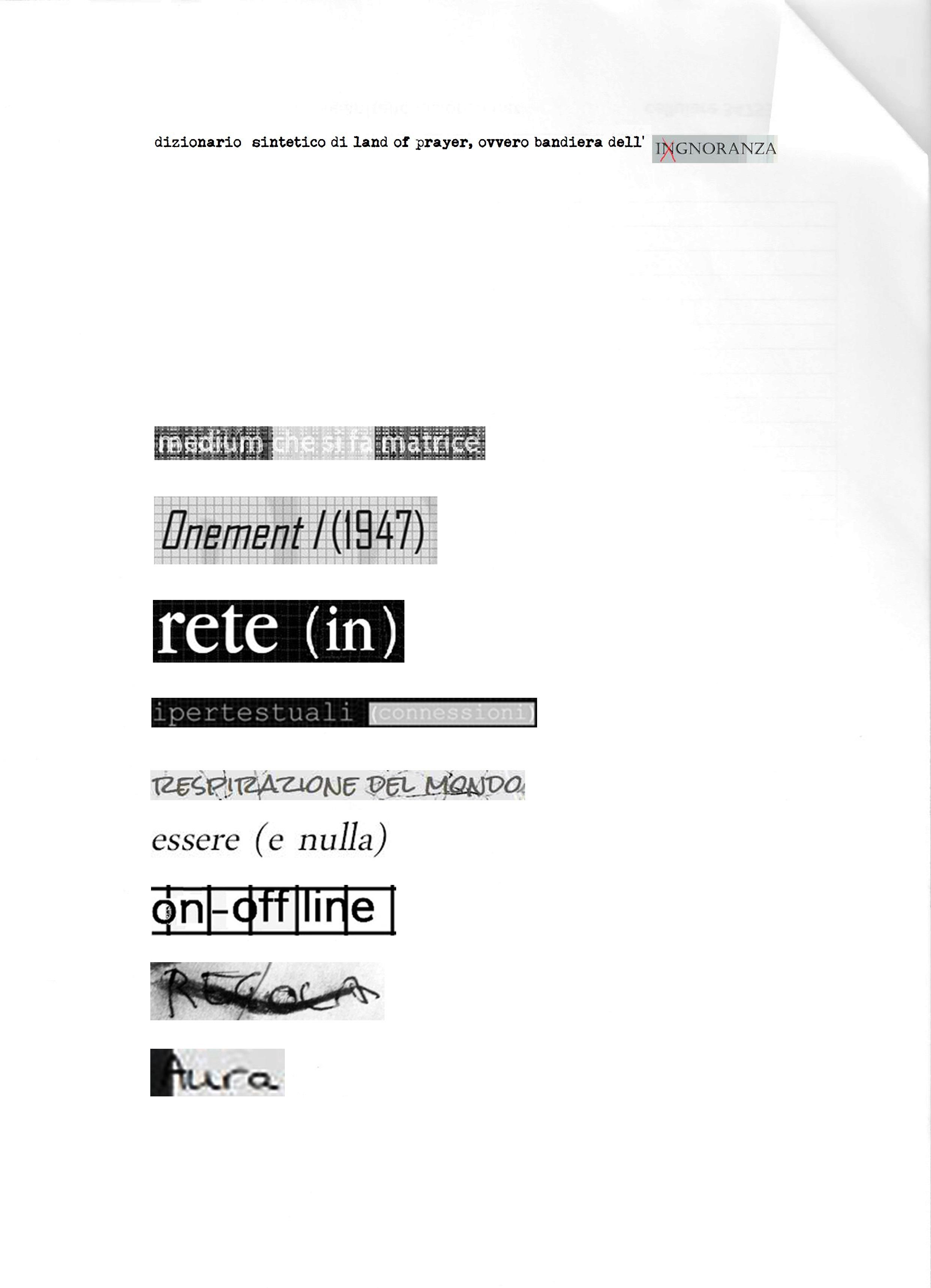 1 dizonario sintetico